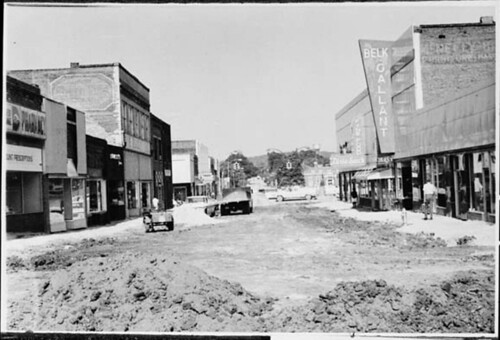 Toccoa Mall Construction