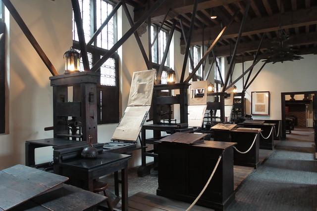 Plantin Moretus drukpers