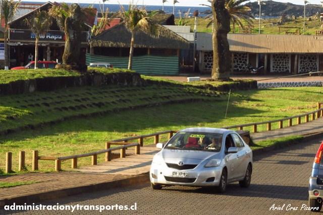 Taxi Isla de Pascua | Toyota Yaris (DYXP82)