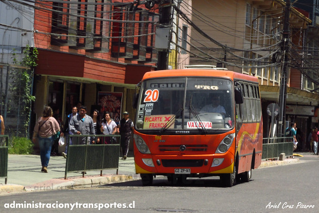 Micro 20 Valdivia - Niebla / Caio Foz - Mercedes Benz (CZZP97)