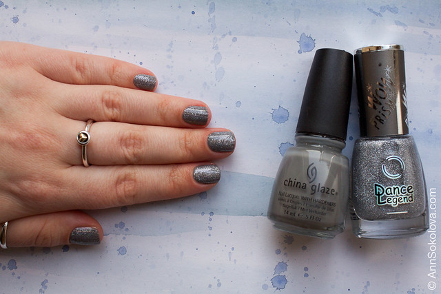 03 China Glaze Recycle + Dance Legend Steel Panther Wow Prism Collection Ann Sokolova swatches