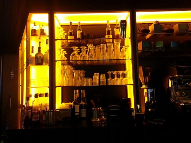 Gabrielle Cafe Paris bar back