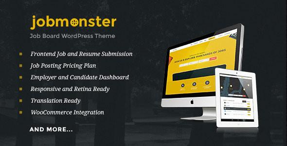 Jobmonster - Job Board WordPress Theme v4.3.0.1
