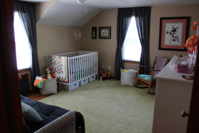 Looking into the nursery