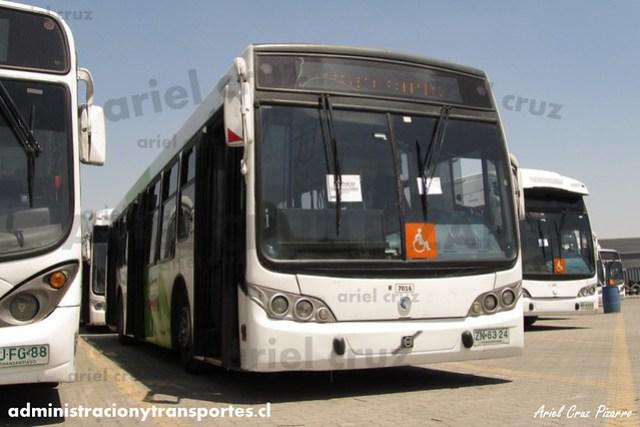 Transantiago - Subus Chile - Caio Mondego L / Volvo (ZN6324) (7016)