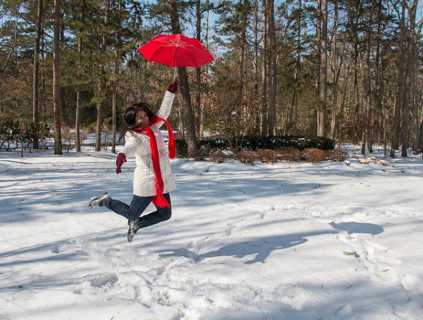 Umbrella Levitation