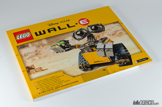 REVIEW LEGO 21303 WALL-E LEGO IDEAS 04