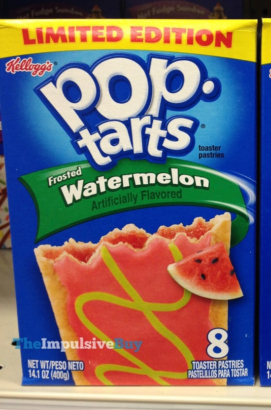 Limited Edition Frosted Watermelon Pop-Tarts