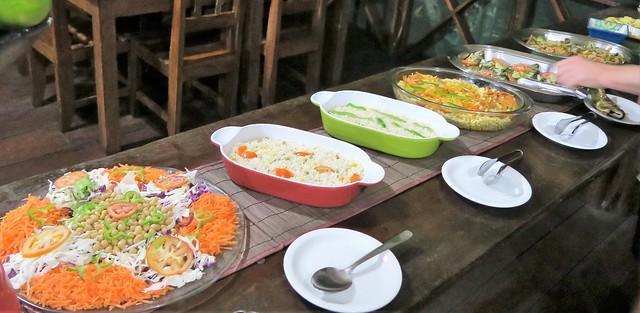 amazon tupana lodge dinner