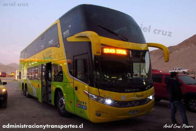 Buses Tepual - Chañaral - Marcopolo Paradiso 1800 DD / Volvo (FSBH86)