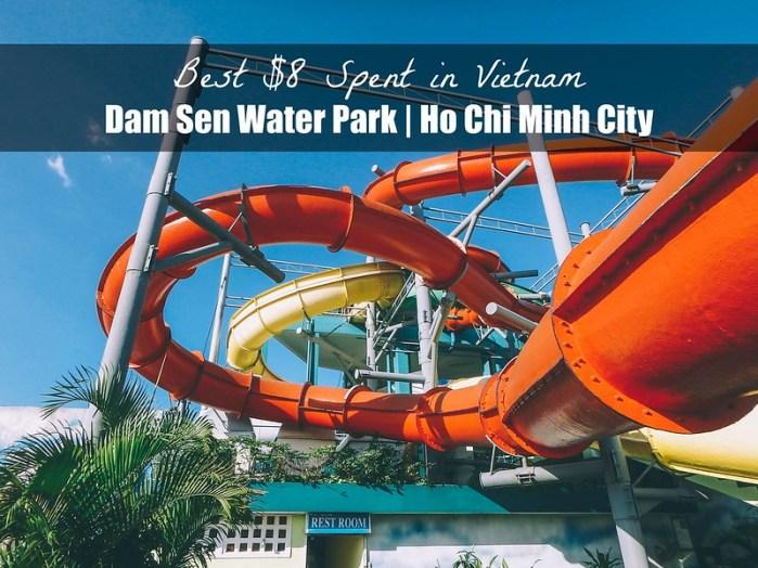 Dam Sen Water Park Ho Chi Minh City HCMC Vietnam