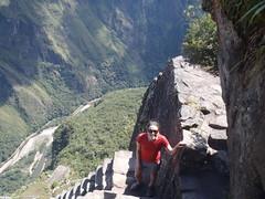 On Huayna Picchu