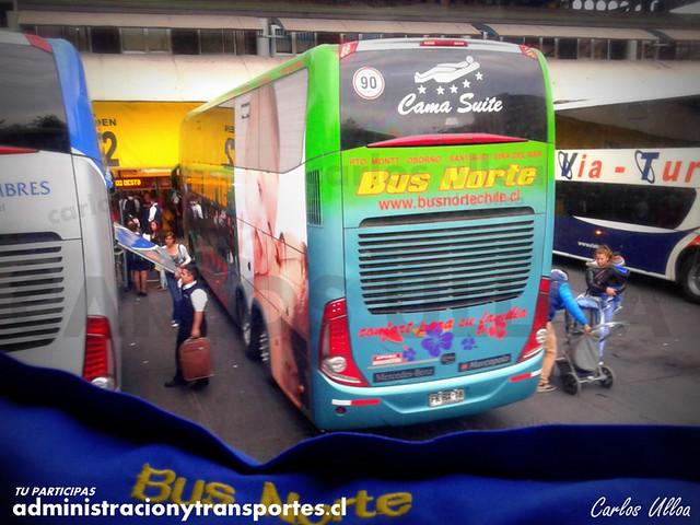 Bus Norte (Cama Suite) - Santiago - Marcopolo Paradiso 1800 DD / Mercedes Benz (FKRX18) (204)