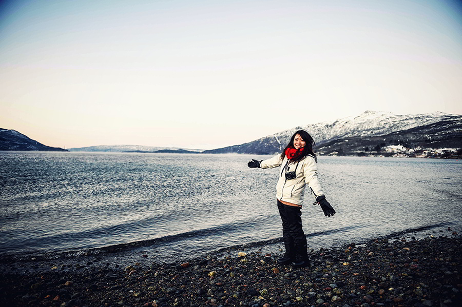 2016.02.23  看我歐行腿   阿呀~一不小心就從瑞典到了挪威, Narvik 小鎮遇見地理課本中的峽灣 22.jpg