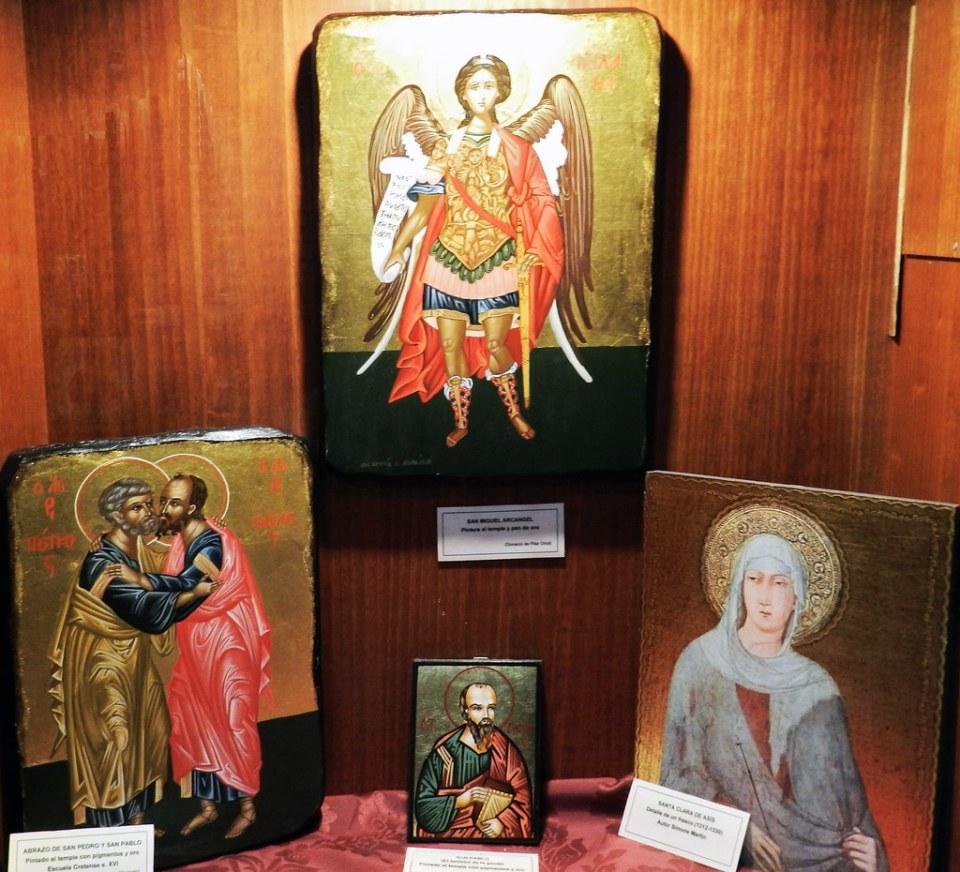 Exposicion Iconos Iglesia San Francisco Javier Caceres 15
