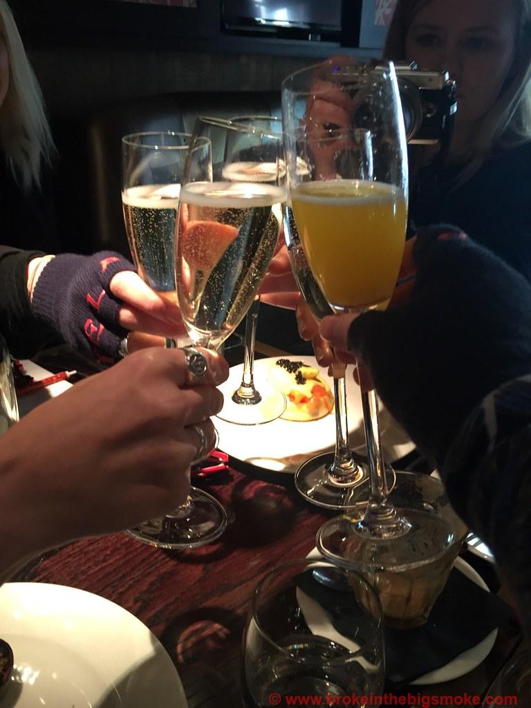 Bottomless Brunch Booze Botanist Broadgate Circle