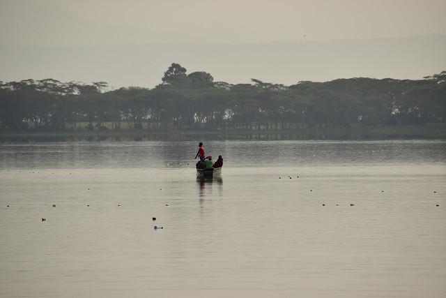 オロイデンレイク湖。