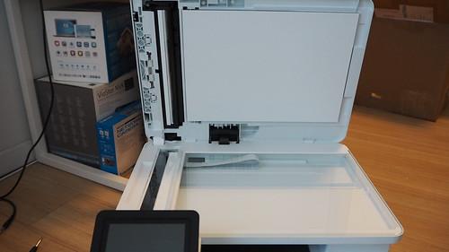 ส่วนของสแกนเนอร์ของ HP Color LaserJet Pro MFP M477fdw