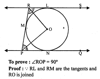 RD Sharma Class 10 Solution Chapter 10 Circles