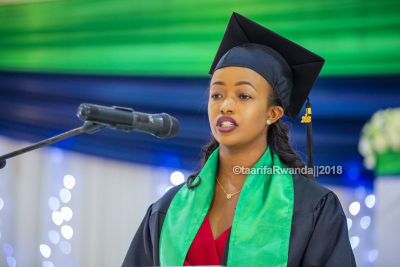 Kepler Graduation Liza Imbonabake Kigali Campus Graduate Representative