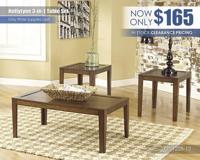 Hollytyne Table Set_CLEARANCE_t228-13