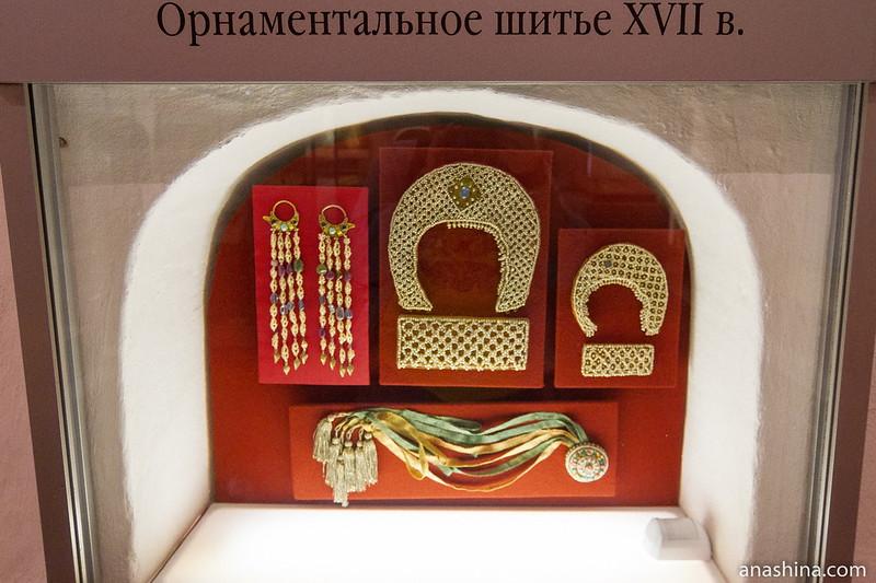 Орнаментальное шитье XVII века