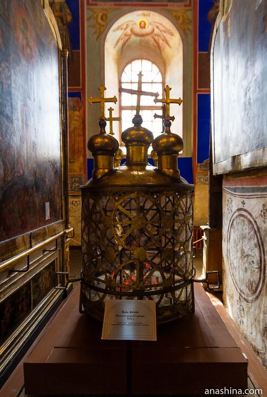 Царь-фонарь, собор Рождества Богородицы, Суздаль