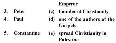 ICSE Solutions for Class 7 History and Civics - Medieval Europe - Rise and Spread of Christianity - HIS-014