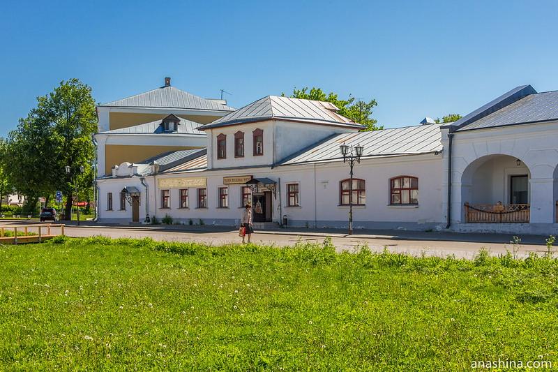 Дома XIX века на Кремлевской улице, Суздаль