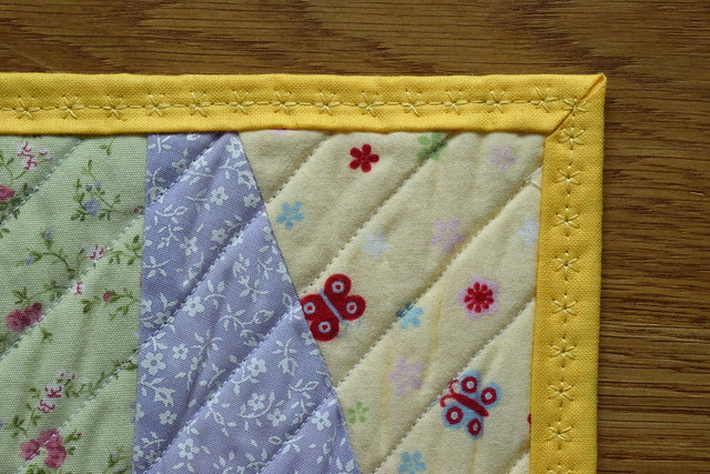 Backing to Front Binding