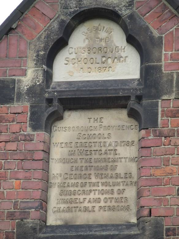 Guisborough Board School 1878