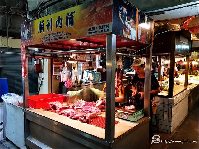 市場豬肉攤
