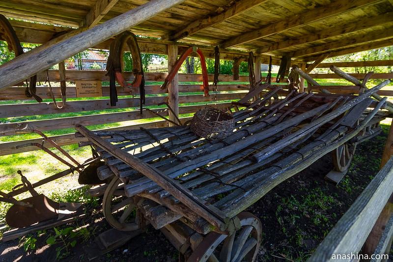 Конская амуниция, Музей деревянного зодчества, Суздаль