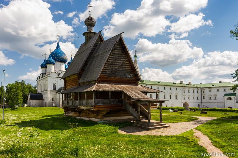 Никольская церковь из села Глотово, Суздаль