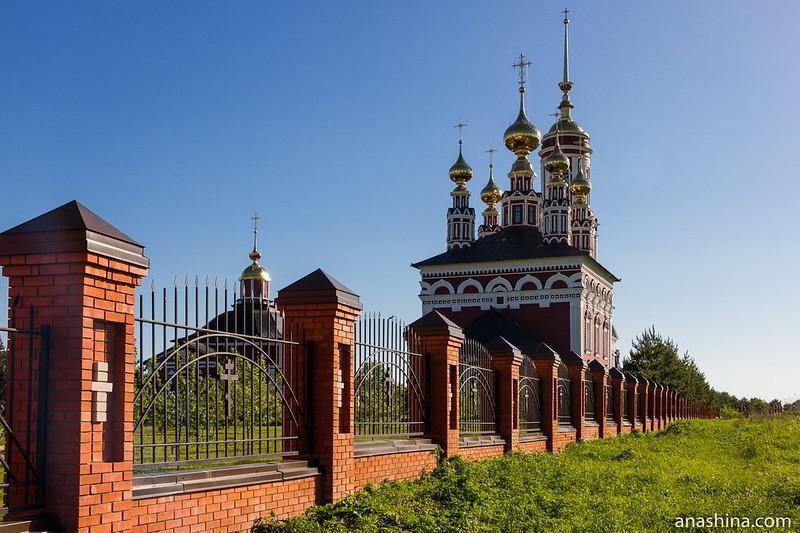 Храмовый комплекс в Михали, Суздаль