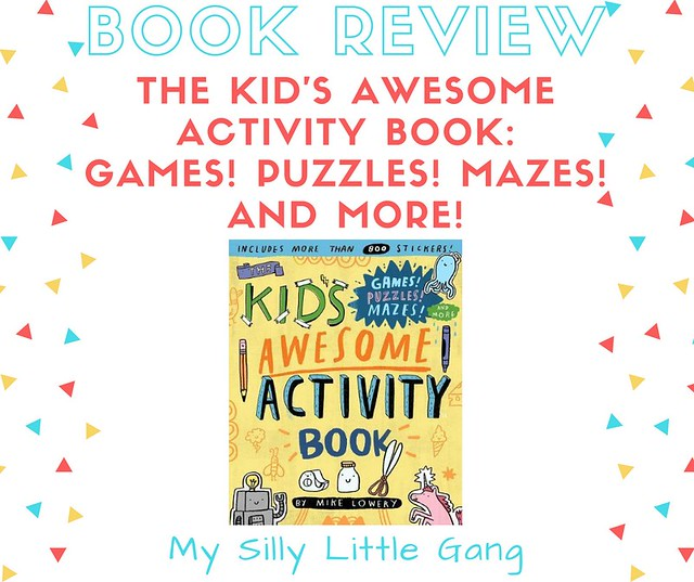 The Kid's Awesome Activity Book ~ Book Review
