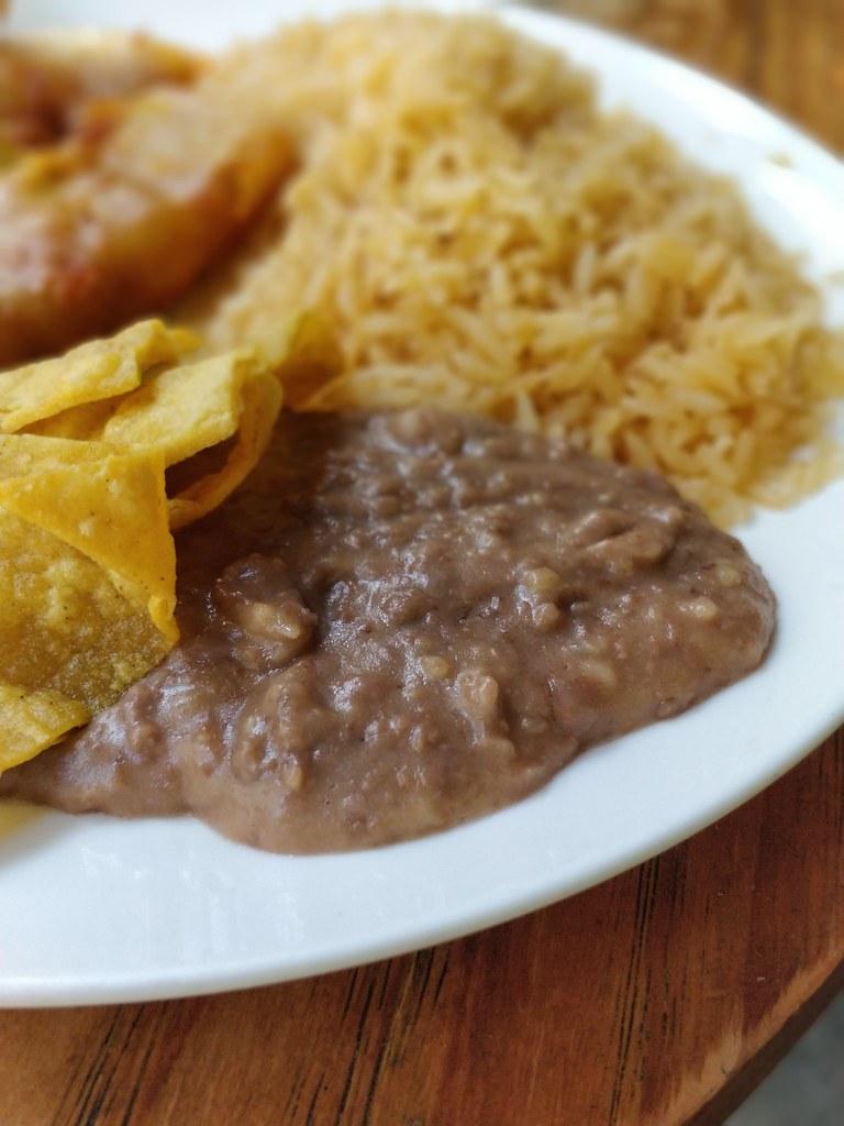 Refried Beans Verde Mar Mexican Restaurant Wanchai Hong Kong