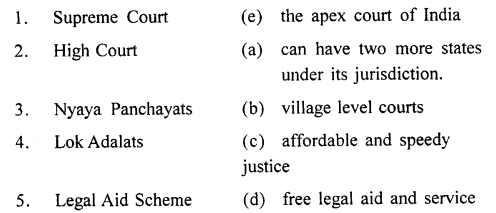 ICSE Solutions for Class 8 History and Civics - The Judiciary-civ-0010003