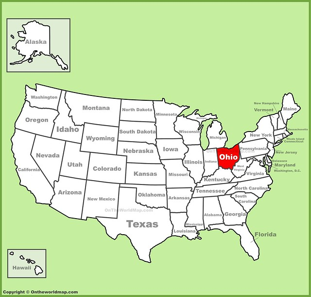 ohio-location-on-the-us-map