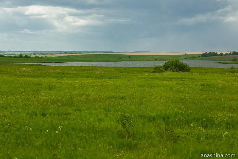 Пруд около села Гавриловское, Владимирское ополье
