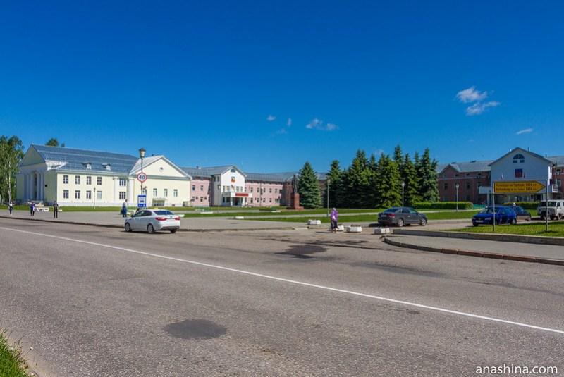 Красная площадь, Суздаль