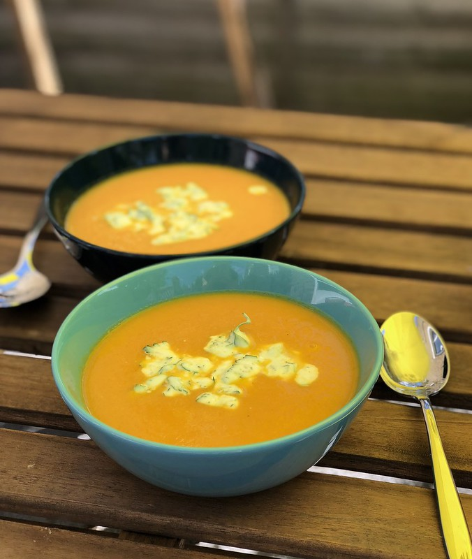 Carrot Soup - New Nordic Diet