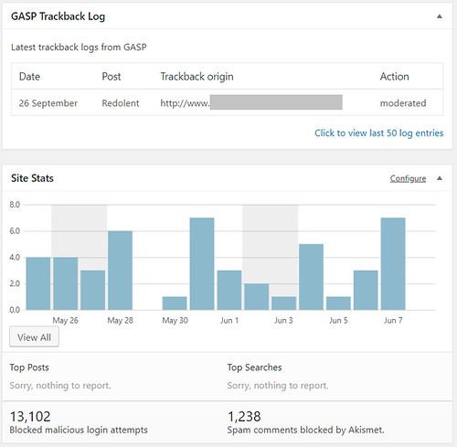 3 GDPR screenshot of plugin
