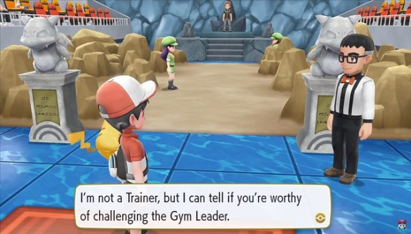 Pokemon Let's Go Pikachu - Gym Battles