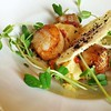 Pan Seared Scallops: Puddicombe House, New Hamburg