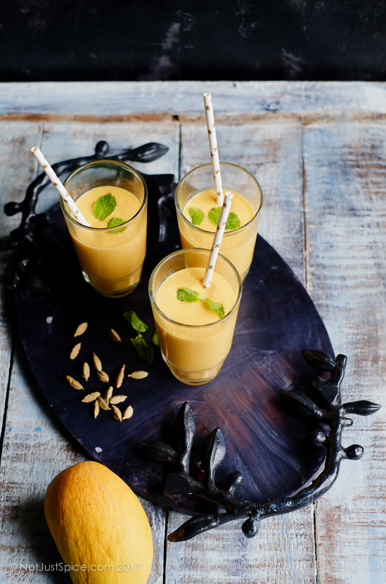 The King of Lassis: Mango Lassi | Mango Lassi Recipe on notjustspice.com