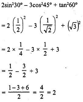 RD Sharma Class 10 Solutions Chapter 10 Trigonometric