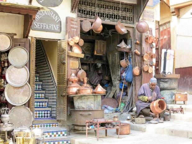 Visita al zoco de Fez