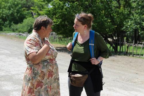 Відриття центру дозвілля та допомоги в с. Орловське Донецької області