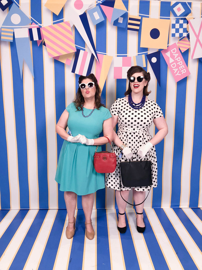 Ariel & Perdita Dapper Day Style